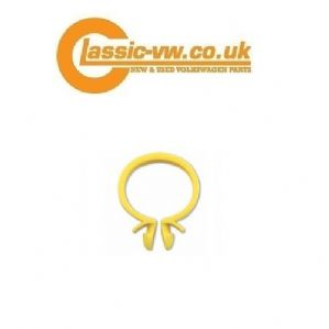 Wiring Loom Securing Clip Yellow. Golf, Jetta, Caddy, Scirocco,